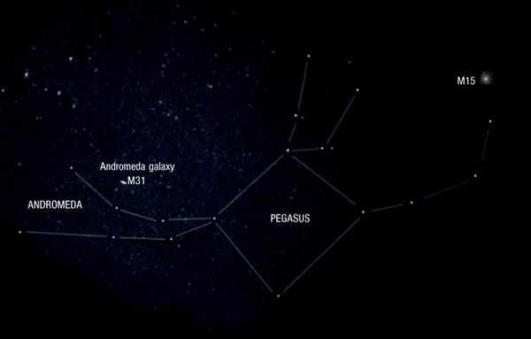 Pegasus and Andromeda